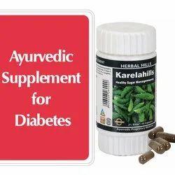 Ayurvedic Medicine For Diabetes - Blood Sugar Control - Karela 60 Capsule