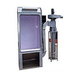 Powder Coating Booth with Single Cyclone Recovery