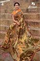Half-half Laxmipati Multicolor Georgette Saree Dilbaro 5401, Length: 6.30 Mtr