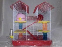 Mild Steel Home Purpose Hamster House