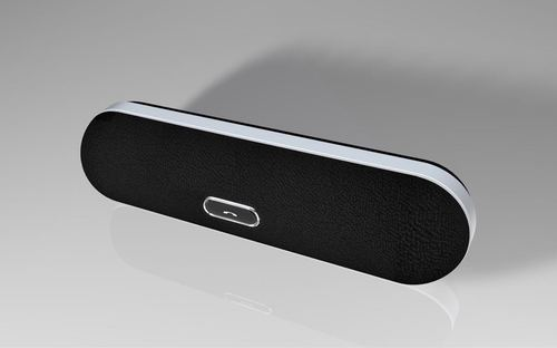 10w Black Wireless Bluetooth Speakers, Packaging Type: Box