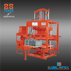 Concrete Block Manufacturing Machine
