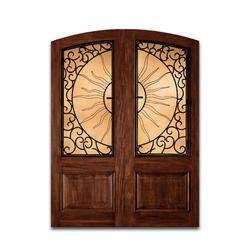 Decorative teak Wooden panel Door