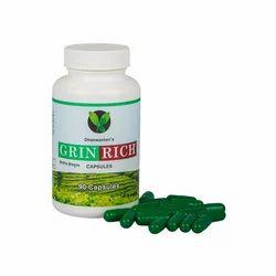 Dhanvantari Green Rich Capsule, Packaging Type: Bottle