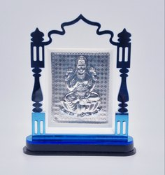 Silver Laxmi Stand