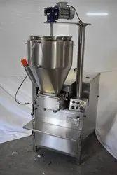 Semi Automatic Chyawanprash Filling Machine