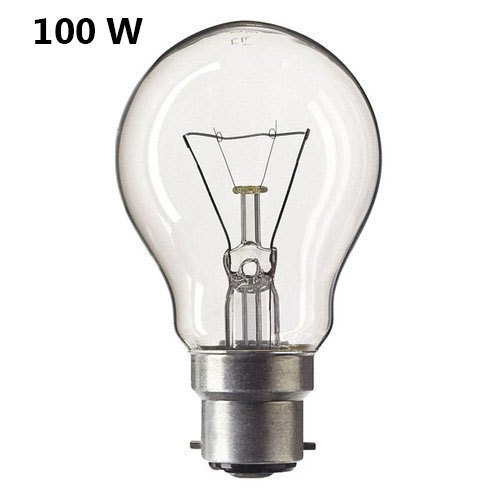 Round Incandescent 100 Watt Gls Light Bulb, Rs 890 /carton ...
