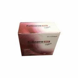 DHA Folic Acid Methylcobalamin And Pyridoxime Softgel Capsule, Packaging Type: Strip