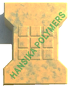 I Shape 9 Box Paver Moulds, Thickness: 60/80mm