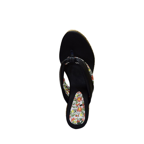 6000039bc4d Stepee Ladies Woven Wedges Slippers