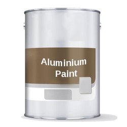 High Gloss Oil Based Paint 4 Liter Aluminium Paint, Packaging Type: Bucket