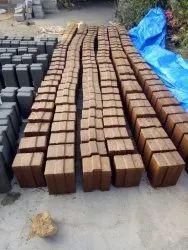 smb Solid Interlocking Bricks Mud, For Partition Walls