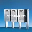 Stainless Steel Chevi Trio Bins