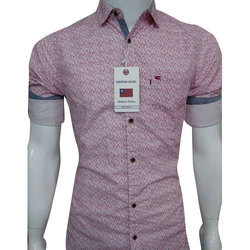 Printed Casual Wear Designer Cotton Shirt