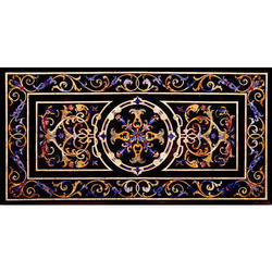 Marble Inlaid Table Top
