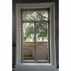 White Rectangle Window GRC Frame, Grade Of Material: First