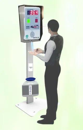 Face Temperature Monitor & Automatic Dispenser System