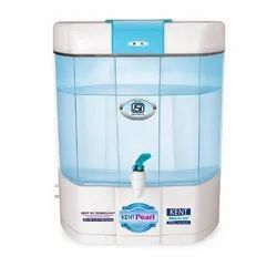 Abs Plastic Ro+ Uf + Lv Tds Control Kent Pearl RO Water Purifier, 70 W, Capacity: 8 L