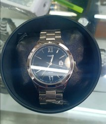 Men Silver Watches