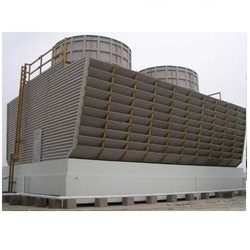 Timber Cross Flow Single Cooling Tower