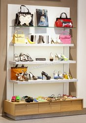 Display Rack for Handbags and Shoes