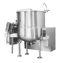Stainless Steel Jacketed Mixers, For Industrial, Capacity: 100-500 L