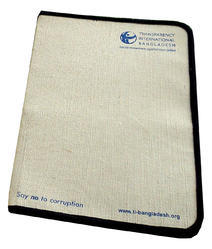 Manufacturer of Handmade Jute File Folders with Your Logo, Paper Size: A4, A5