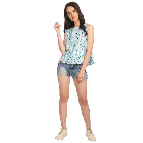 f6a15dcfe Cotton Designer Printed Ladies Tops, Size: S, M & L, Rs 450 /piece ...