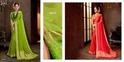 Sukanya By Antra Chiffon Rich Pallu Saree Design Collection