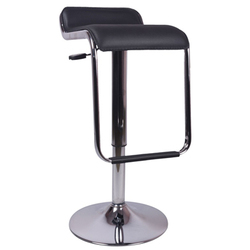 Black Caballo Metal Bar Stool