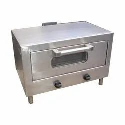 Food Grade Pizza Oven Gas (4-Pizza), Capacity: 4.0