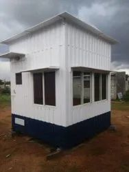 Prefabricated MS Office Cabin