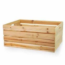 Non Edible Hard Wood Medium Wooden Crate