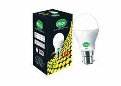 Cool Daylight Ceramic 7 Watt B22 Cool Day Light LED Bulb BIS APPROVED, 7W