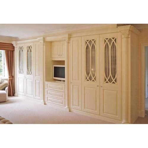 Wooden Light Brown Bedroom Cupboard, Rs 1000 /square Feet, Immaculate Ceilings & Floorings