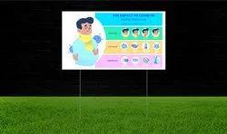 Reflective Yard Safety Signs
