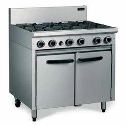 Sabari Kitchen Six Burner Gas Range