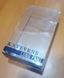 Pvc Pant Packaging Boxes