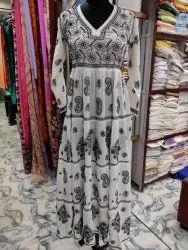 Stitch Festive Wear Chikankari Gown