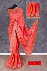 Mintorsi Akshita Sana Silk Party Wear Embroidery Saree