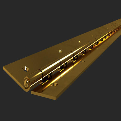 Brass Piano Hinges Thickness 1 1 5 Mm Rs 350 Piece