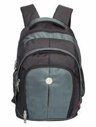 Black & Blue Renault Big Backpack Bag