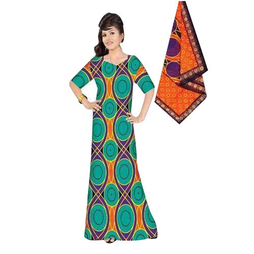 ad8e09dff Cotton Printed Nighty With Dupatta