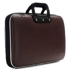 Stylish leather briefcase  / Laptop Messenger Bag for College, School and Business