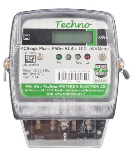 Techno LCD Electronic Energy Meter
