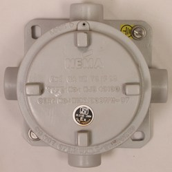130 Dia Flame Proof Junction Box