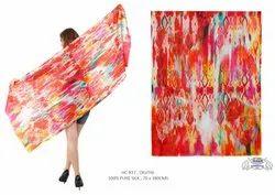 Digital Printed Silk Shawls