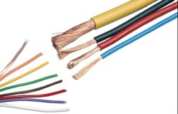 SCI FR-LSH PVC Insulated Copper Wire Of Size 1c x 6.0 Sqmm.