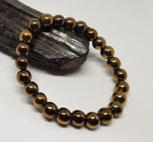 Galaxy Orgone Goldan Pyrite Bracelet Size Free