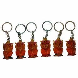 Ganesha Painted Keychain